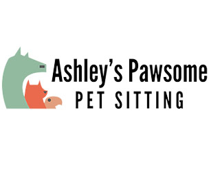 Ashleys Pawsome Pets logo